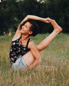 Sőrés Anett, jógaoktató